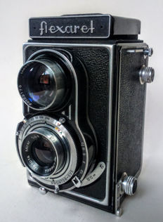 Flexaret TLR camera with Meopta Mirar and Anagstimat lenses