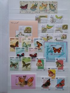 Flora and fauna 1960/2000 - Topical collection in stock book