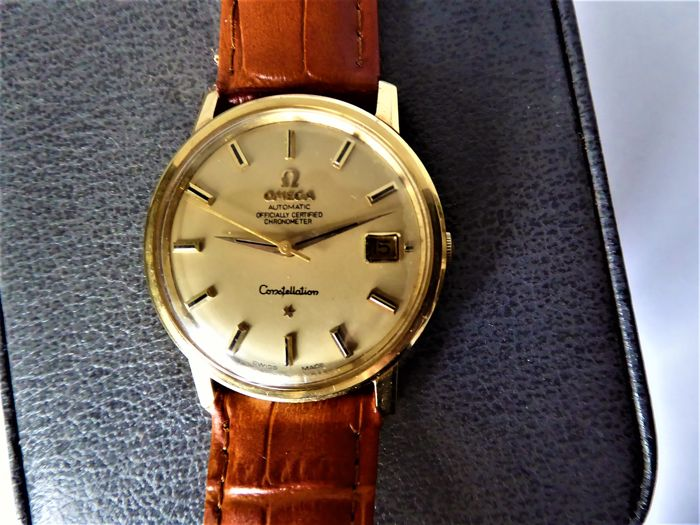 Omega - Swiss Constellation Chronometer 18k  - Uomo - 1960-1969