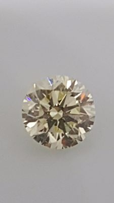 1.51 ct - Round Brilliant - White - J / VS1