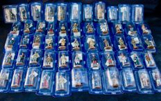 Delprado  - Scale 1/30 - Lot of 58  Soldiers, year 2007 - collection Guerre Mondiale