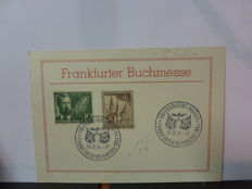 Germany 1950/1960 - collection FDCs, letters