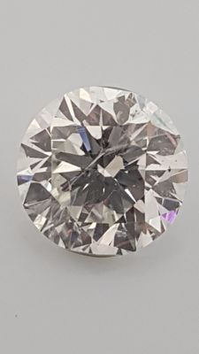 1.50 ct - Round Brilliant - White - E / VS1