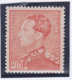 Belgium - King Leopold III with certificate - 435A