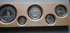 Spain - 5th Centenary of the discovery of America - year 1992 - silver 925/1000 - case with 6 coin, the most rare