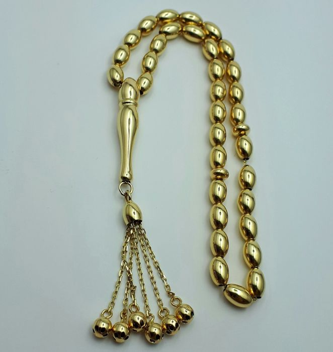 Gold Necklace 14 ct yellow gold
