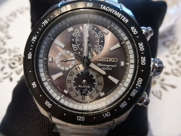 Seiko - Sports High Tech Chronograph -alarm -   43,5 mm  - Men - 2011-present