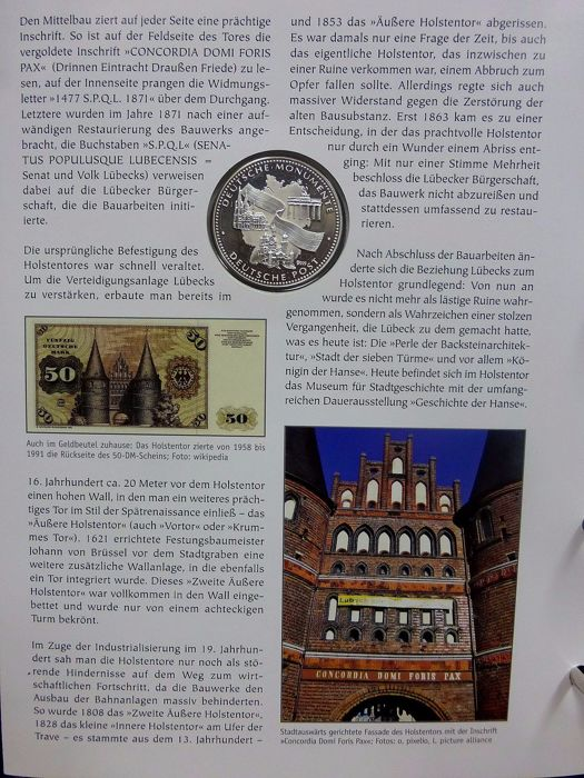 Germany Commemorative Coins 14 Pieces Silver With Certificate