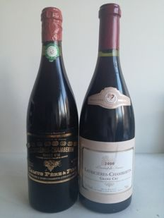 1998 Latricières-Chambertin Grand Cru Domaine Camus  x 1 bottle - 2000 Latricières-Chambertin Grand Cru  x 1 bottle / 2 bottles in total