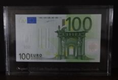 European Union - Germany - 100 euros 2002 - Duisenberg - in Acrylic - issued by the German Bank