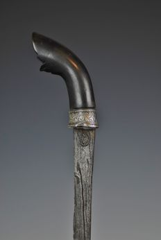 Badik knife - Indonesia, Southern Sulawesi - second half 19th century