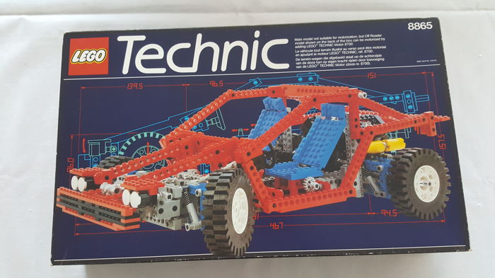 lego technic 8865 test car catawiki. Black Bedroom Furniture Sets. Home Design Ideas
