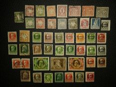 Bayern 1910 – lot of stamps