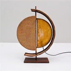 Unknown producer - Table lamp with an asymmetrical design