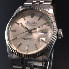 Rolex -  Oyster Perpetual Datejust Quickset  - Ref. 16014 - Men - 1980-1989