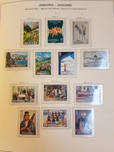 Andorra Spanish and French 1961/1992 - Collection