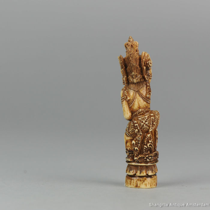 Mythical Beast Carved Bone Kris Keris Hild / Handle /Ukiran ...