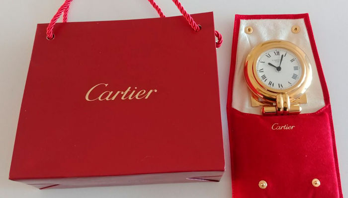 Cartier Vendome Vintage travel watch