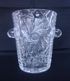 Crystal champagne/wine cooler