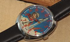 Mens Wrist Watch RAKETA 2609 Youri Gagarin