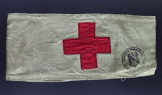 Red Cross armband, Wehrmacht, 3rd Reich