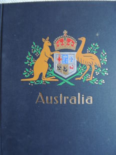 Australia 1913/2000 - collection in a Davo binder