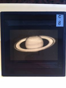 Glass slides - Universe - Lecture - Jupiter - Horizon - Constellations - Astronomy - 1954