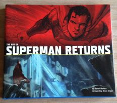 Superman Returns - The Art of Superman Returns - signed hardcover book - autographed by Brandon Routh as Superman - COA from Celebrity Authentics