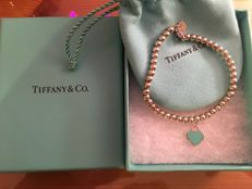 Tiffany & Co. bracelet with heart, 925 silver, length 20 cm