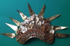 Traditional handmade Balinese dancing crown - mid previous century