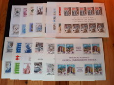 Monaco 1974/1990 – Lot of 20 EUROPA blocks.