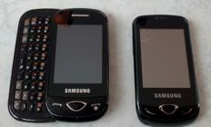 Two Samsung mobile phones GT S3370 and  GT B3410