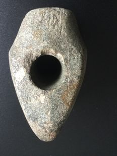 Neolithic Large stone battle axe - 100 mm (546 g)