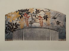 Japan; Sumiko Hashimoto - The Combs and ornamental Hairpins in the collection of Miss Chiyo Okazaki - 1978