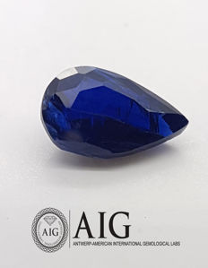Sapphire - Blue  - 2.89 ct,  !! No Minimum Price !!!