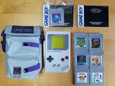GameBoy Classic set incl. 7 games