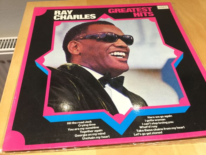 Ray Charles - Collection total of 16 records - 3 LP's - 1