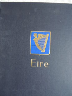 Ireland 1922/1989 - Collection in a Davo binder.