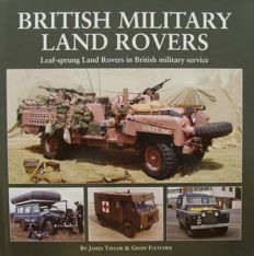 Book : British Military Land Rovers
