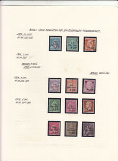 France 1927/1930 - complete series 'Au Profit de la Caisse d'ammortissement' (to the profit of the Amortization Fund) - Yvert no. 246-268