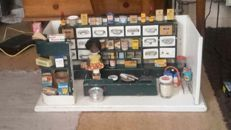 Old general store approx. 1930 with lots of accessories - Germany