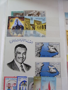 Egypt - stock in stock book