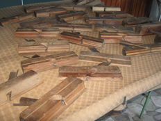 Lot of 24 vintage planes for professional carpenter