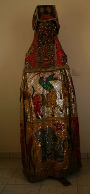 Egun spirit costume Yorouba, South-Benin Porto-Novo region
