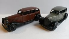 Dinky Toys - Scale 1/43 - Lot of 2 Vauxhall No.30d