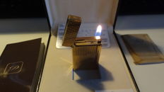 St Dupont Lighter Gold Plated