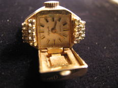 Lafayette watch Co. ring – 1920s- 1930 – with 17-jewel watch