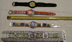 Collection of Keith Haring watches