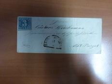 Germany 1850/1860 - Bavaria collection folding letters