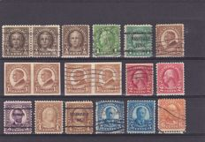 United States 1922/1935 - a selection between Scott 551 and 768